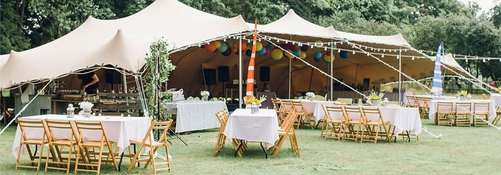 Find marquees in the East Midlands